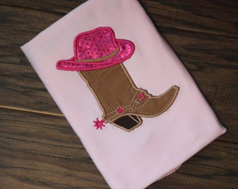 Matching Mommy & Daughter Custom Cowgirl or Cowboy Birthday Shirt
