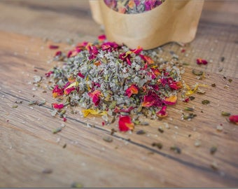 Herbal Bath Soak, Relax Herbal Bath Salts