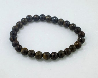 Bronzite Bracelet.  Sophisticated depth of color.