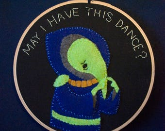 May I Have This Dance? 6 inch hoop