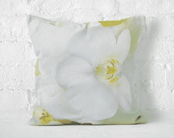 Pillow case WHITE ORCHID