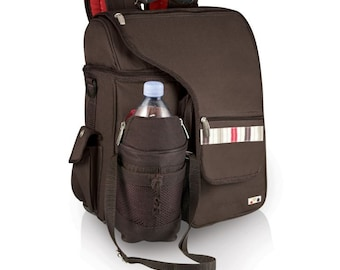 Pack for the lunch time hike.  Like a purse but better.  Holds lunch keys water snacks and even beer!