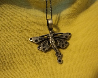 fairy necklace pewter with chain