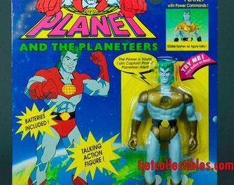 Captain Planet 1991 Series Captain Planet with Power Commands Action Figure