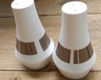Noritake Newell Progression Salt and Pepper Shakers Vintage