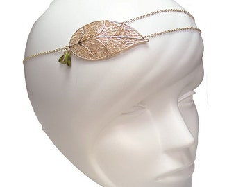 Headband sheet gold with fine gold