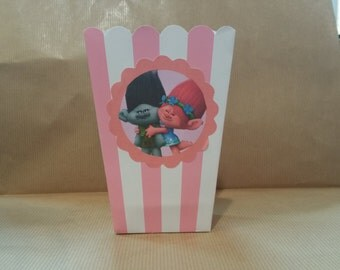 themed popcorn boxes set 10 trolls