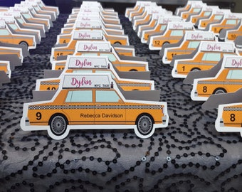 Taxi seating card  (pack of 10)