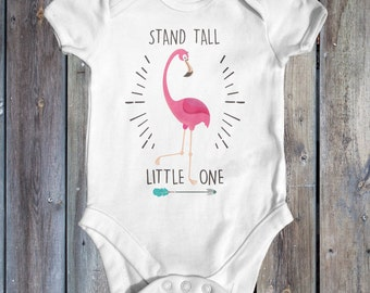 Stand Tall Little One Baby Bodysuit | Baby Shower Gift | Baby Girl Bodysuit | Boho Baby Clothes | Cute Baby Clothes | Funny  Baby Bodysuit