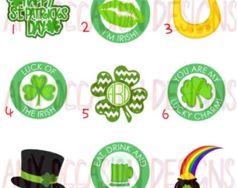St. Patrick's Day Temporary Tattoos - St. Patty's Day