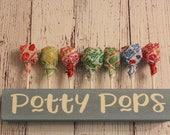 Potty Pops Holder - Potty Training Reward - Potty Reward - Potty Training Treat - Potty Training Tool - Lollipop Holder - Lollipop Stand