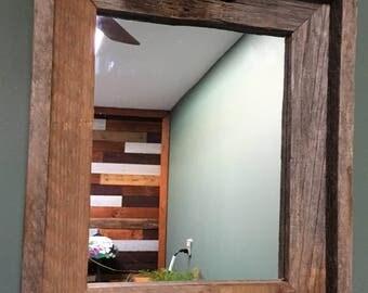 Barnwood Reclaimed Wood Mirror
