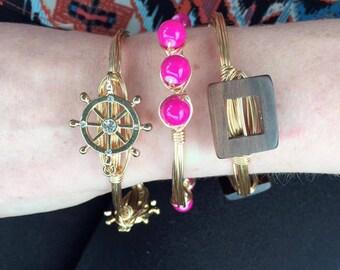 Set of 3: Spring bangles