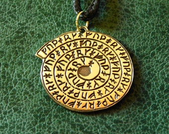 Viking calendar, a copy of an amulet (9-10 century) found in Viking settlement