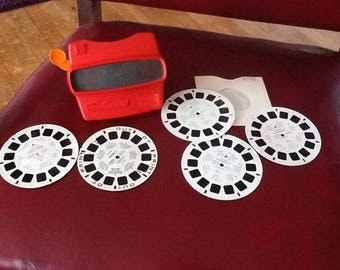 Vintage View Master with Reels
