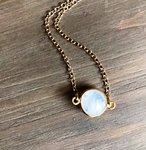 moonstone jewelry gold - photo #32