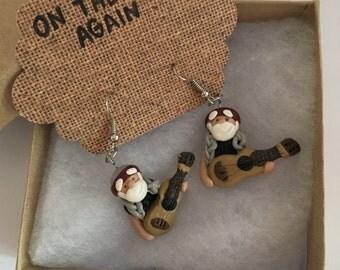 Willie Nelson Earrings