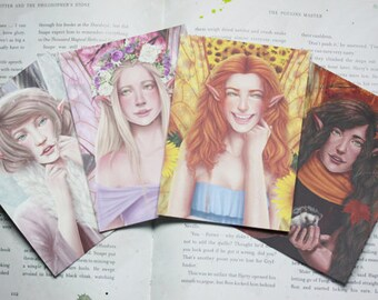 Four Fairies Postcards