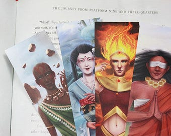 Four Elements bookmarks