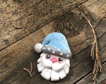 Frosty Santa Charm