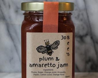 Plum & Amaretto Jam