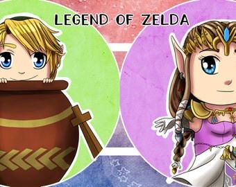 Legend of Zelda badge set