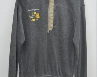 MUNSINGWEAR Sweater Vintage 90's Munsingwear Grand Slam Streetwear Half Zipper Pullover Crewneck Sweater Sweatshirt Size M