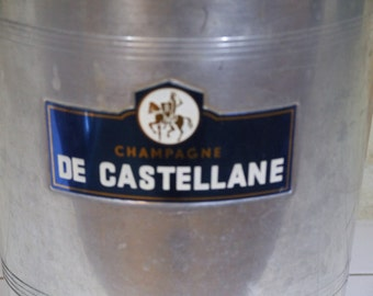 Champagne De Castellane Art deco Ice Bucket