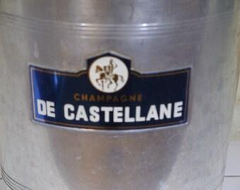 Champagne De Castellane Art deco Ice Bucket