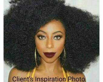 Big and Fluffy - Afro Crochet Wig