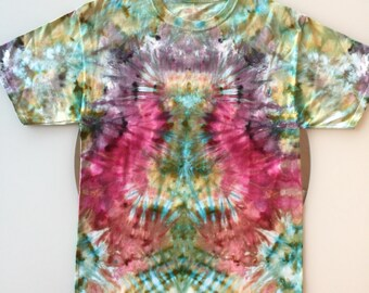 Tie Dye Handcrafted T-Shirt Size: Medium