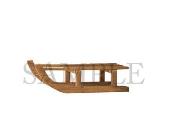 Wooden Sled Overlay