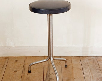 Black retro stool   Black retro stool