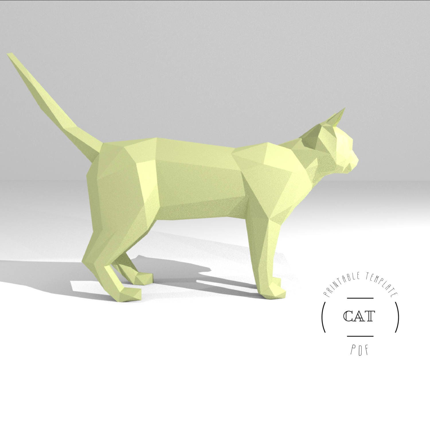 Cat And Dog Origami Set