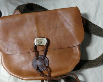 Leather Rifle Bag