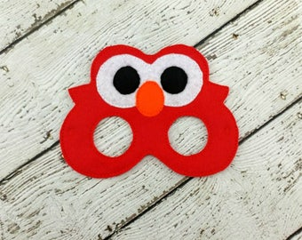 Silly Red Monster Mask - Party Favor - Halloween - Dress Up