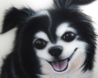 Custom Airbrush Pet Portraits