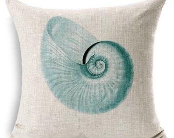 Nautical Pillow Cover
