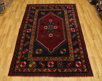 Room Size Tribal Kazak Balouch Turkish Persian Oriental Area Rug Carpet 7X11