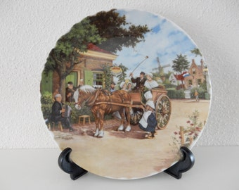 Wallplate Dutch country wedding 1984 J.C. van Hunnik