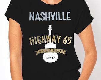 Nashville: Highway 65 Records Women's T-Shirt