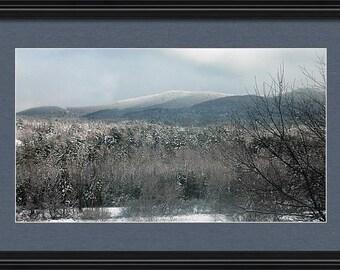 Snowy Mountain Beauty - Framed Print