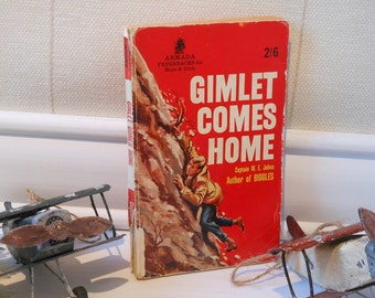 Gimlet Comes Home by Captain W E Johns. Paperback book.