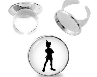 Peter Pan Ring Peter Pan Adjustable ring Peter Pan Jewelry Fanboy Fangirl