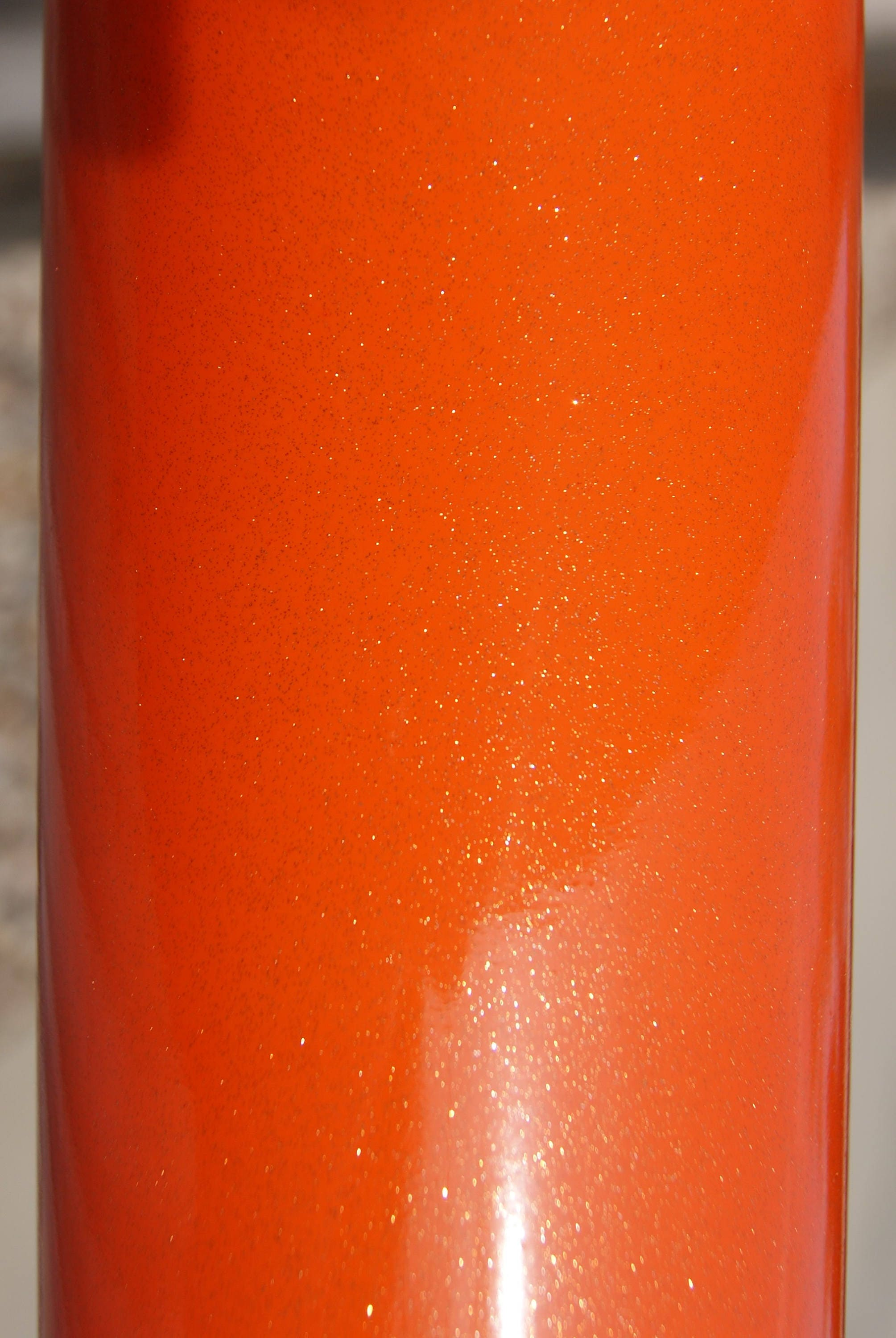 Bright Orange Gt Ultra Metallic Vinyl Glitter Vinyl
