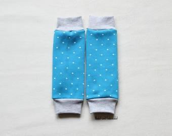 Baby Legwarmers, Toddler Legwarmers, Gender neutral Legwarmers, warm Legwarmers with small Stars