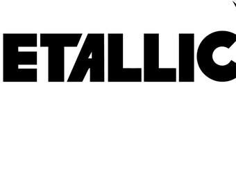 Metallica Decal