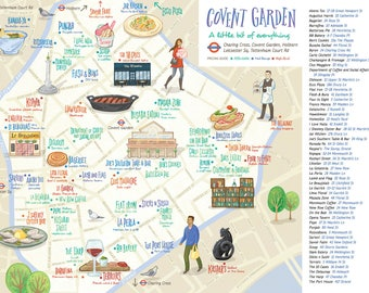 Book of London Food Maps