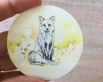 Wild Fox Whispers stickers