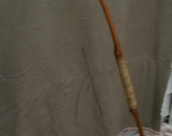 Antique Cherokee Hand-carved Osage Bow